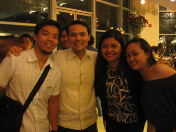 Bleue, Sec. Durano, Mich and Grace (Photo by Mich)
