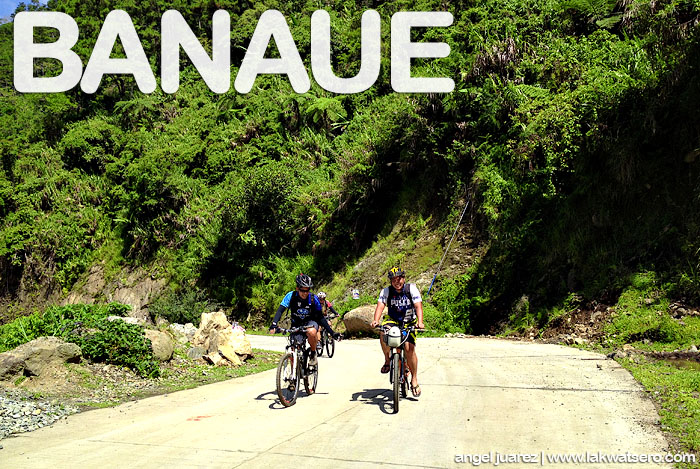 Rolling in Banaue