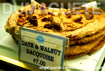 My personal favorite - Date and Walnut Dacquoise
