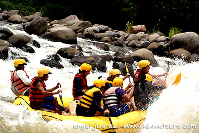 You've never been to CDo if you haven't tried riding on its rapids