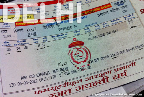 Booking and Indian Railway Ticket