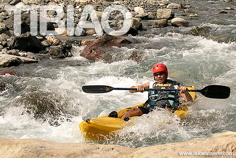 Tibiao River Kayaking