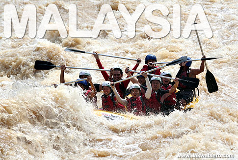 River Rafting in Padas River
