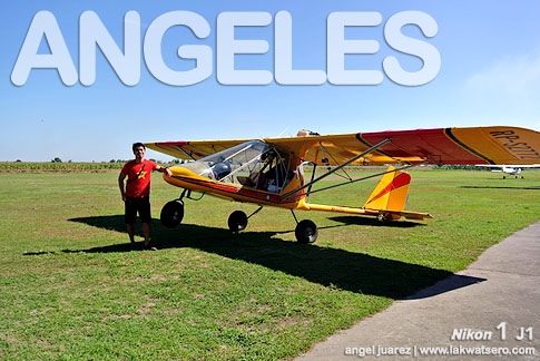 Ultralight Aircraft RIde at Angeles City Flying Club